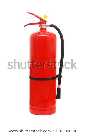 Tűz izolált fehér víz háttér fém Stock fotó © pxhidalgo