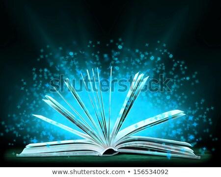 Libro speciale luce istruzione arte Foto d'archivio © oly5
