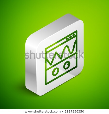 Silver sine wave background Stock photo © shawlinmohd