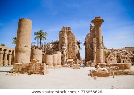Antigo arquitetura Egito fundo Foto stock © daneel
