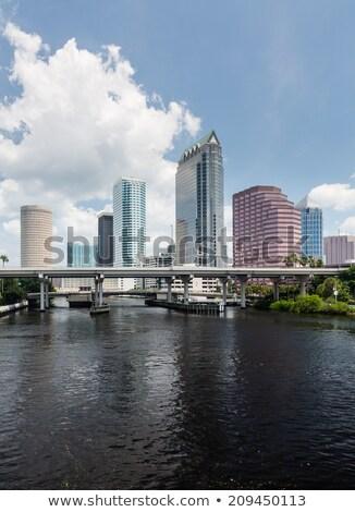Флорида день Skyline конвенция центр Сток-фото © backyardproductions