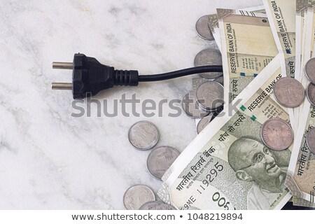 gesneden · elektrische · Bill · 3D · gegenereerde · foto - stockfoto © flipfine