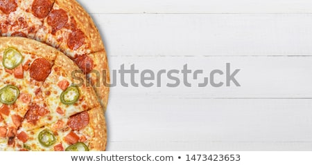 Combo pizza Stock photo © Givaga