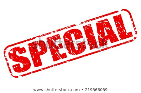 Service Specials-stamp Stock photo © carmen2011