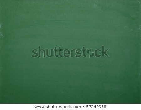 Amarelo esponja verde quadro-negro cópia espaço texto Foto stock © stevanovicigor