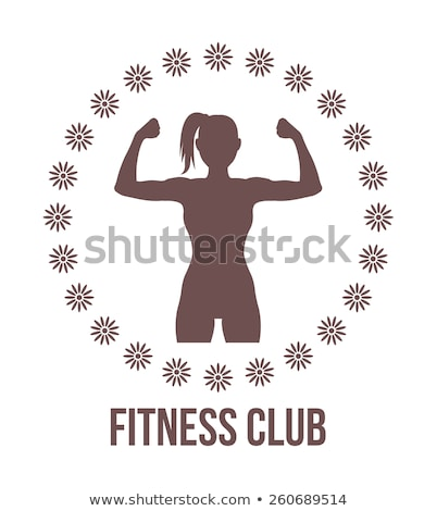 иконки женщины фитнес набор вектора Сток-фото © vectorikart
