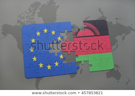 European Union and Malawi Flags in puzzle Stock photo © Istanbul2009