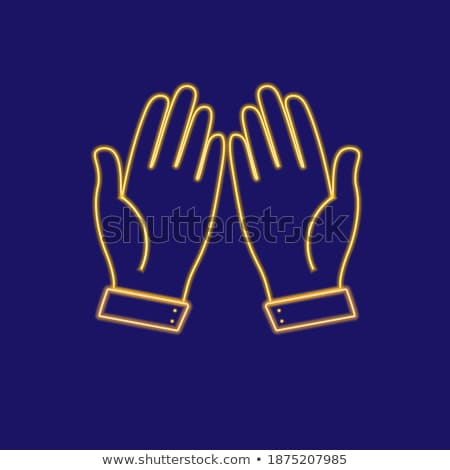 Perguntar dourado vetor ícone projeto chave Foto stock © rizwanali3d