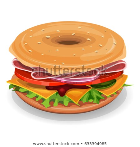 Ingredients For Buns Bagels Stock photo © benchart