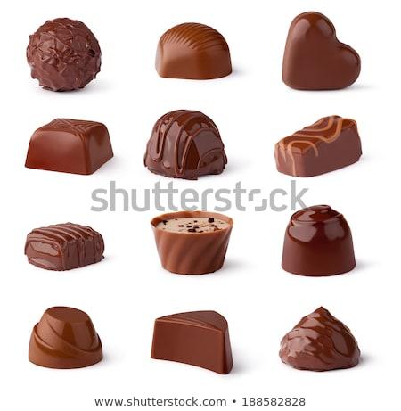 chocolate · doce · dentro · interiores · abundância - foto stock © vapi