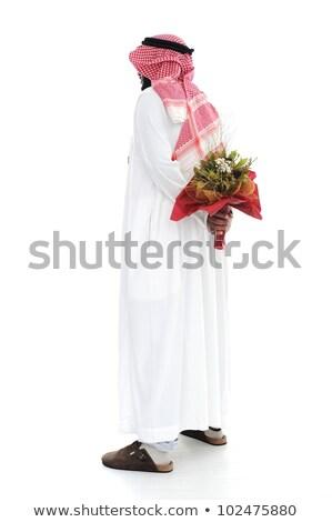 közel-keleti · arab · afroamerikai · férfi · üzlet · iroda · boldog - stock fotó © zurijeta