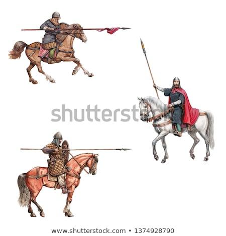 medieval armor mercenary Stock photo © tony4urban
