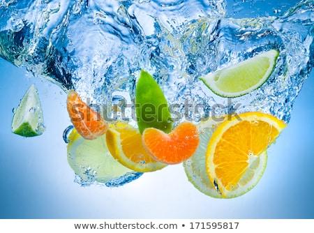 Mandarin under water Stock photo © hamik