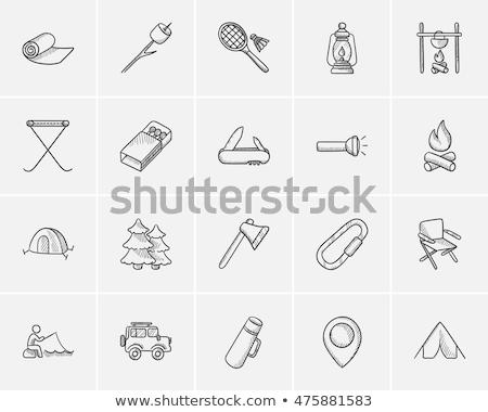 Matchbox sketch icon. Stock photo © RAStudio