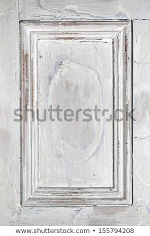風化した · 木製 · ドア · メタリック · さびた · パネル - ストックフォト © photooiasson