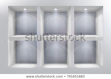 空っぽ 表示 ウィンドウ スポット ライト 背景 ストックフォト © SArts