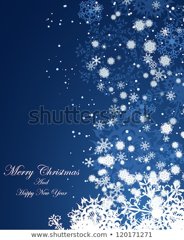 rouge · vacances · lumineuses · flocons · de · neige · eps · vecteur - photo stock © beholdereye