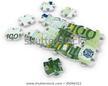 euros · signo · blanco · ordenador · generado · imagen - foto stock © oakozhan