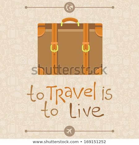 вектора · стиль · иллюстрация · аэропорту · икона · веб - Сток-фото © olena