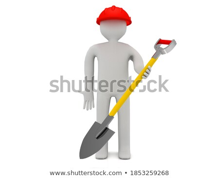 A shot illustrating digging in a garden Stock photo © IS2