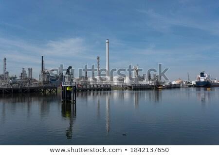 Grand port transport rotterdam affaires Photo stock © compuinfoto