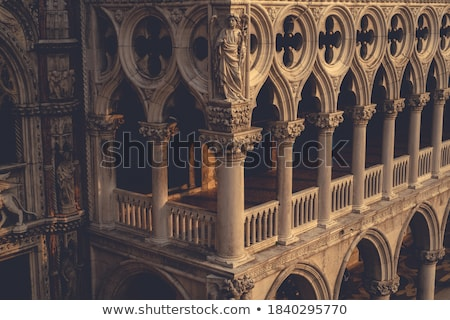 Interior of San Marco Basilica in Venice Stock photo © vapi