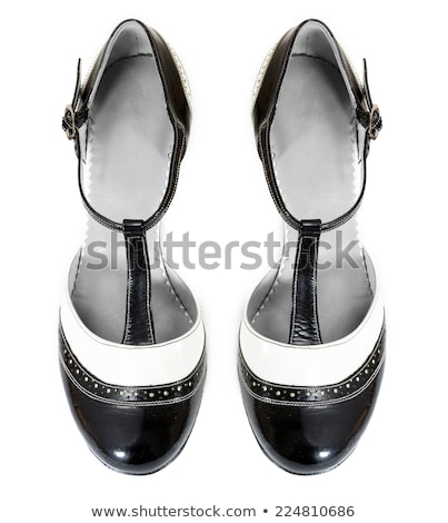 женщины танго обувь изолированный белый дизайна Сток-фото © boggy