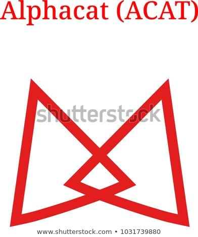 монетами логотип рынке эмблема бизнеса интернет Сток-фото © tashatuvango