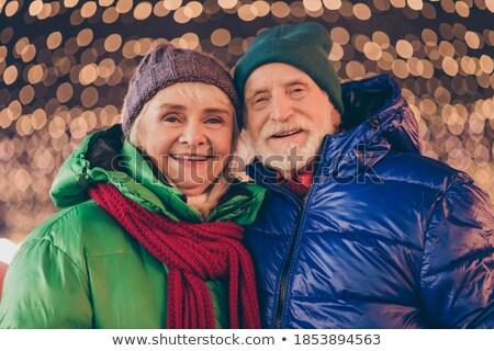 Afbeelding twee aanbiddelijk vrouwen hoeden Stockfoto © deandrobot