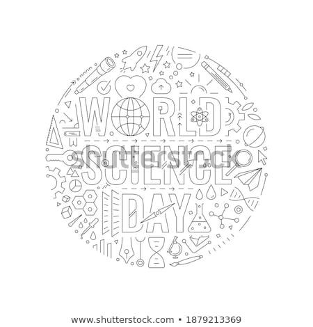 компас белый биологический магнитный иглы указывая Сток-фото © make