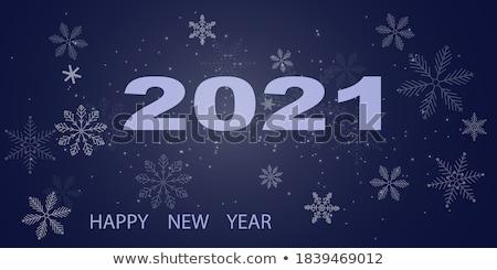 abstract · Blauw · sneeuwvlok · geïsoleerd · witte · ontwerp - stockfoto © robuart