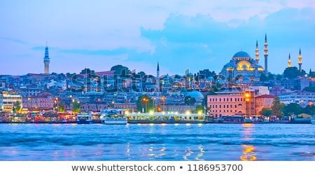パノラマ イスタンブール トルコ 地下鉄 駅 ストックフォト © Givaga