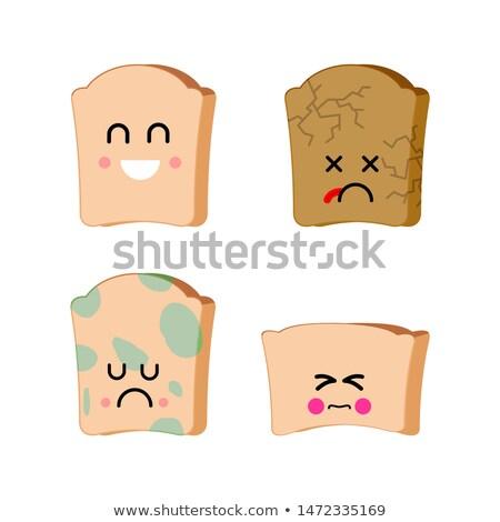 triste · pan · alimentos · verde · trigo - foto stock © maryvalery