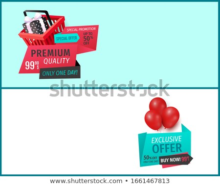 Products Discount, Sale of Premium Goods Web Page Stock photo © robuart