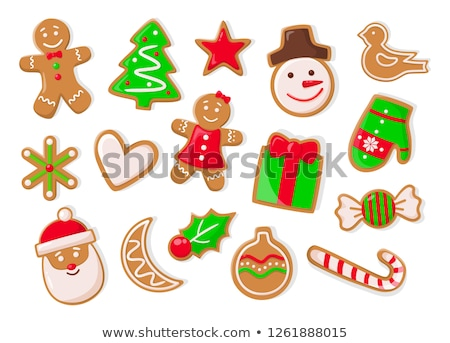 Christmas Holidays Symbolic Gingerbread Cookies Stock photo © robuart
