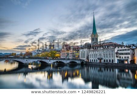 around Lake Zurich Stock photo © prill