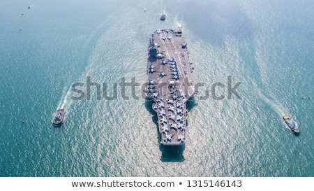 армии плоскости океана иллюстрация фон Сток-фото © bluering