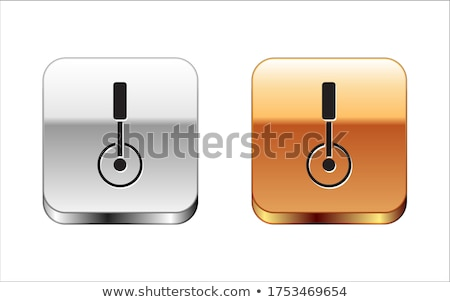 Pizza Roll Knife Icon Stock photo © angelp
