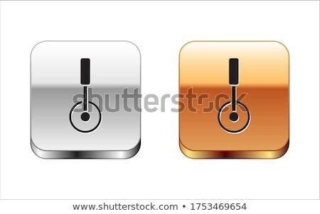 táctico · cuchillo · hoja · negro · acero - foto stock © angelp