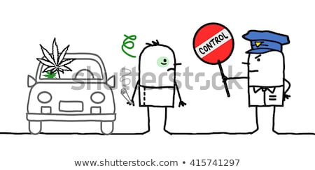 Cannabis And Driving Stock photo © Lightsource