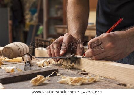 мужчины плотник рабочих древесины семинар человека Сток-фото © wavebreak_media