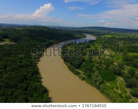 пейзаж мнение реке холмы природы Сток-фото © dariazu