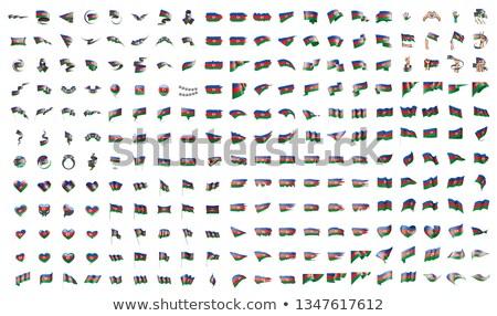 большой коллекция вектора флагами Азербайджан Мир Сток-фото © butenkow