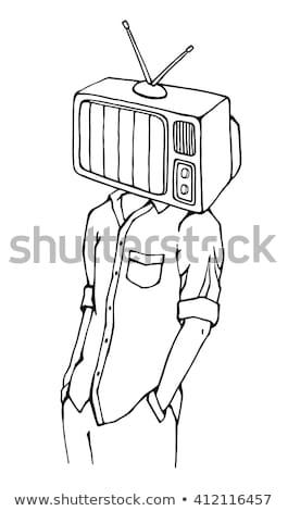 масса СМИ вектора метафора прессы Сток-фото © RAStudio