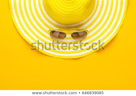 funky summer background Stock photo © oblachko
