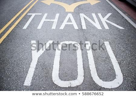 ありがとう 幹線道路の標識 高い グラフィック 緑 ストックフォト © kbuntu