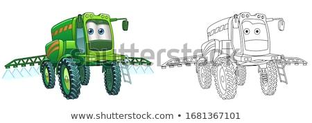 ストックフォト: 定型化された · 漫画 · 車 · アイコン · スポーツカー · デザイン