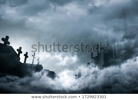 graveyard at night  Stock photo © cidepix