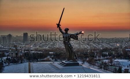 volgograd monument winter Stock photo © Paha_L