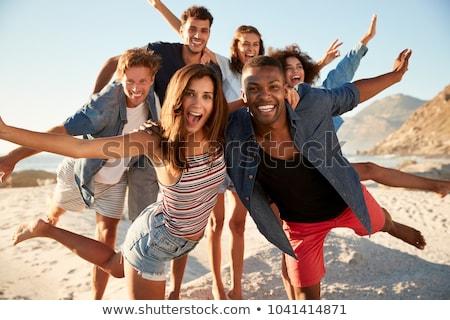 portrait of group of friends stock photo © paha_l